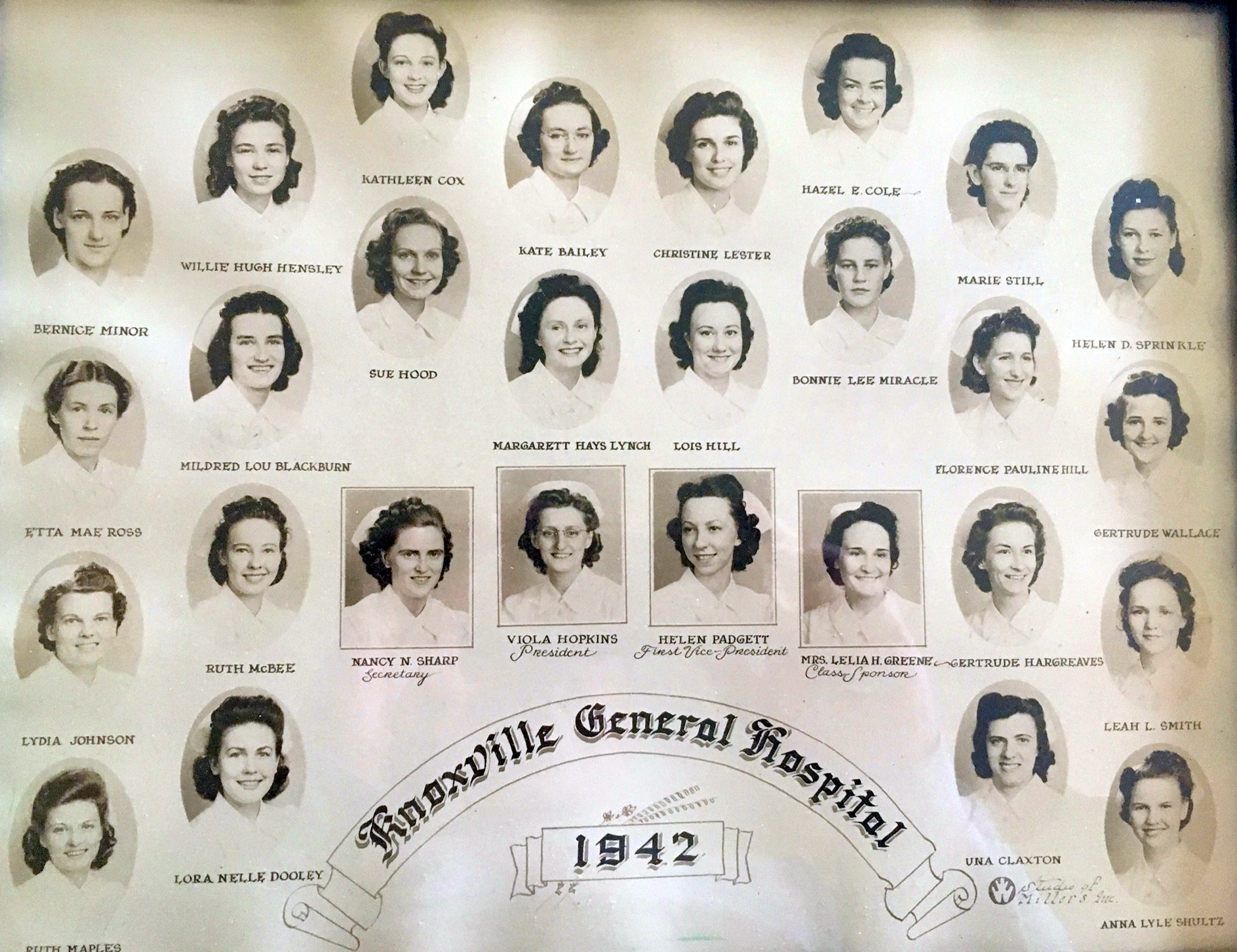 Class of 1942 Official Photograph