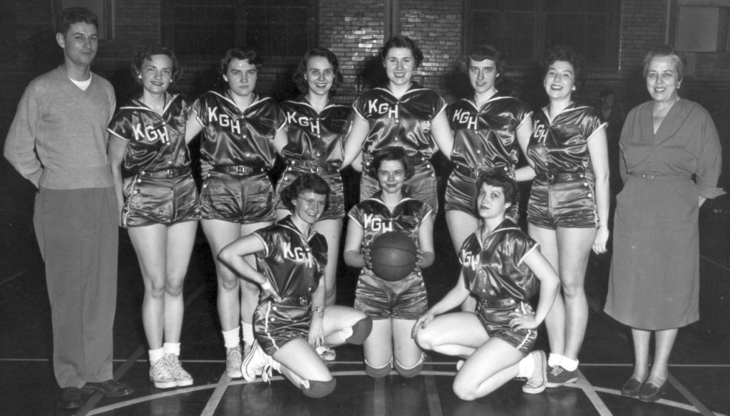 1955 Basketball Team