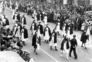 Nurses on Parade, November, 1943