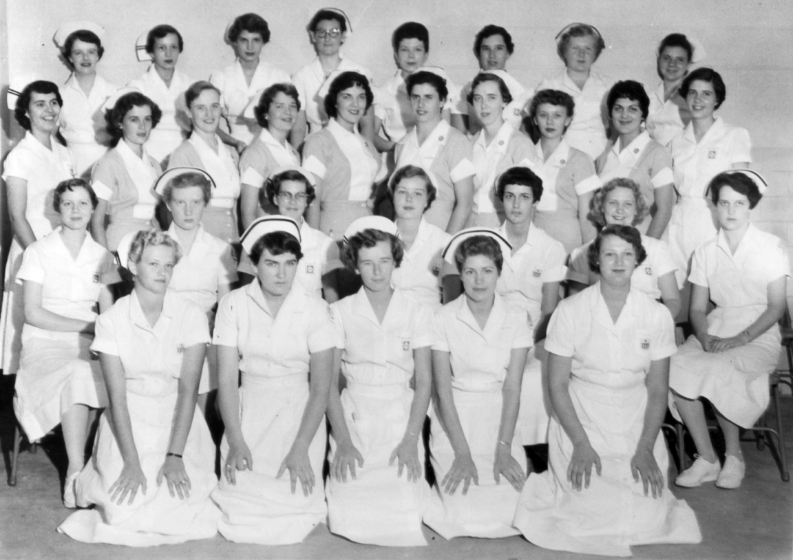 Eastern State Rotation Class Photo 1954 Kgh School Of Nursing