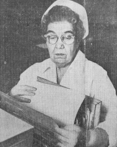 Jane Keller in 1963