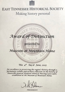 Award to Museum