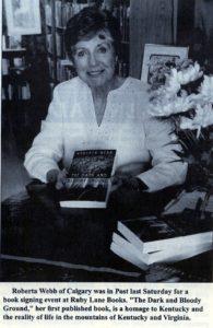 Roberta Hayes Webb Book Signing