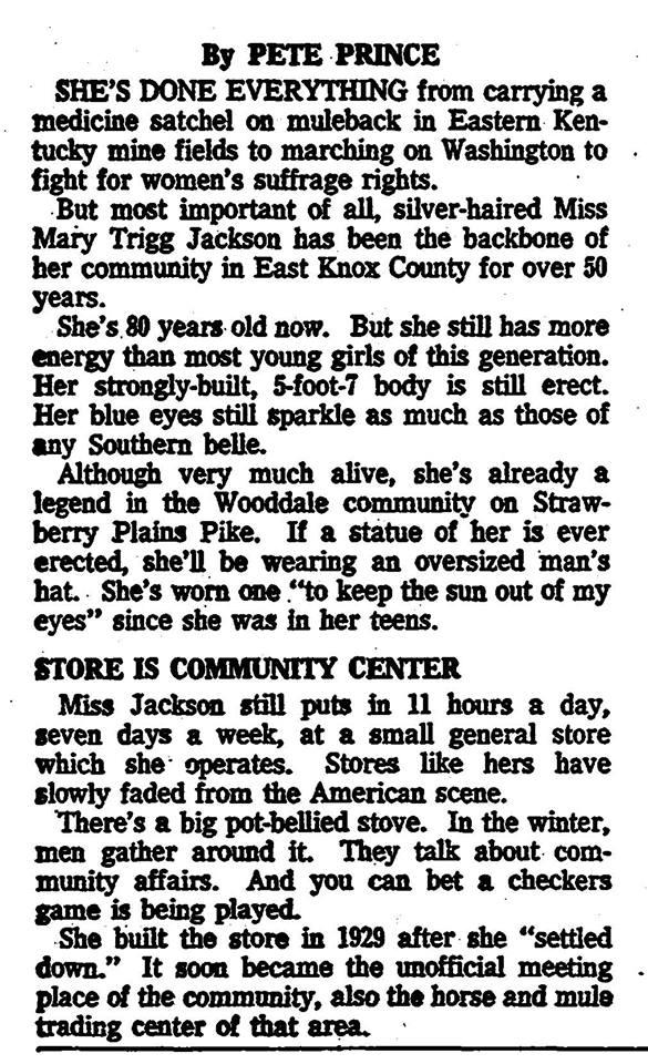 Mary Trigg Jackson 2