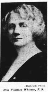 Winifred Whitney about 1935