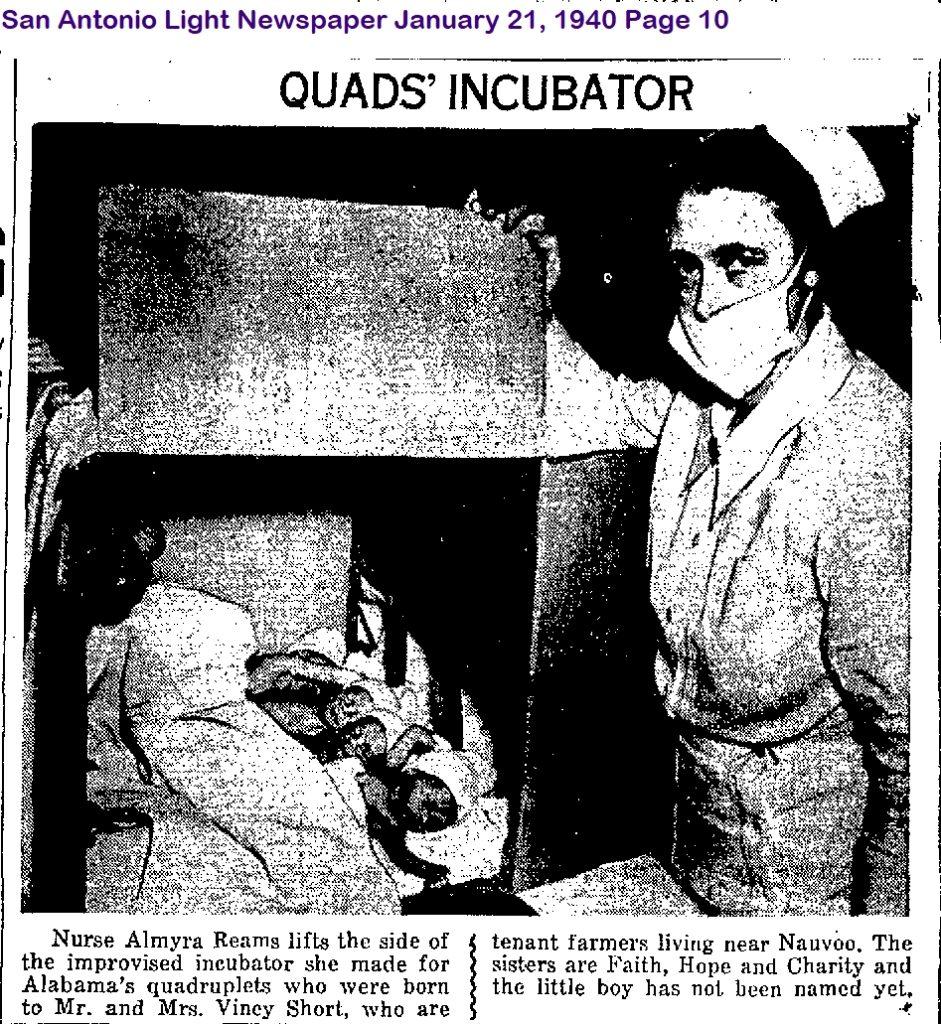 Almyra_Reams_Quads_Incubator_1940